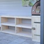 Buitenkeuken voor pizza oven