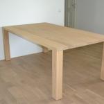 Massief eiken tafel 2000 x 1100 mm