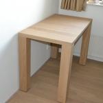 Kleine tafel massief eiken 1100 x 600 mm