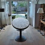 grenen ellipsvormige tafel 002