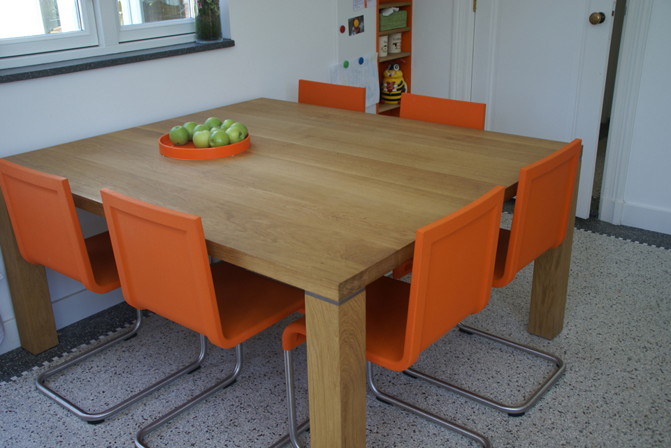 8 Persoons Vierkante Eettafel.Vierkante Eettafel Woodtob