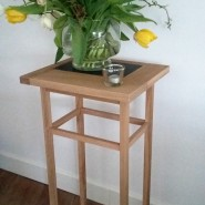 Planten tafeltje met granieten inleg