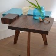 Puzzel tafeltje blauw